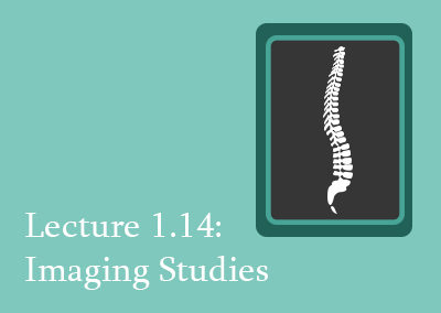 1.14 Imaging Studies of the Spine