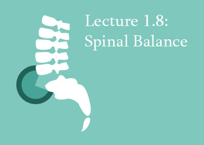 1.8 Spinal Balance