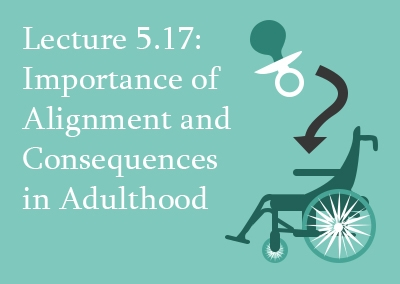 5.17 Importance of Alignment and Consequences in Adulthood