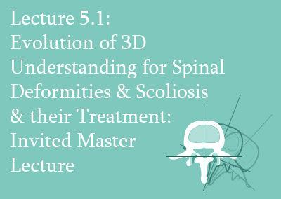 5.1 Evolution of the 3D Understanding for Spinal Deformities