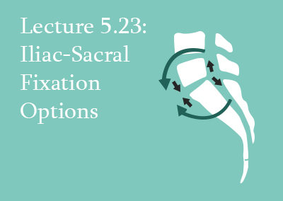 5.23 Iliac-Sacral Fixation Options