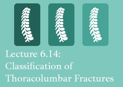 6.14 Classification of Thoracolumbar Fractures