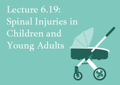 6.19 Spinal Injuries in Children and Young Adults