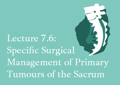 7.6 Specific Surgical Management of Primary Tumours of the Sacrum