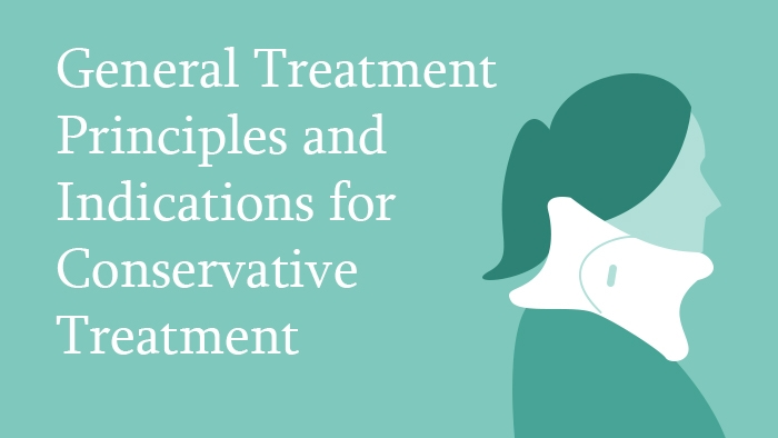 Conservative Treatment of Cervical Spine Injuries Lecture Thumbnail