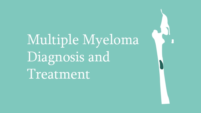 Multiple Myeloma Diagnosis & Treatment lecture thumbnail