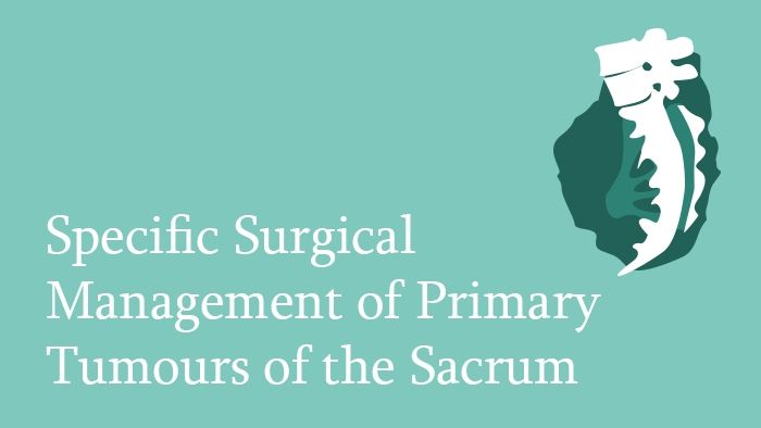 Surgical management of primary tumours of the sacrum lecture thumbnail