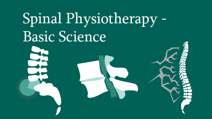 Spinal Physiotherapy Basic Science - Lectures - eccElearning